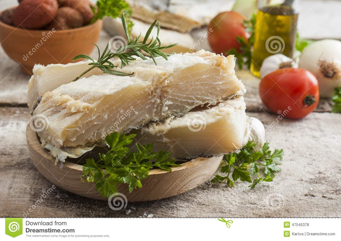 Salted codfish stock photo image of cured meal for Where to buy salted cod fish