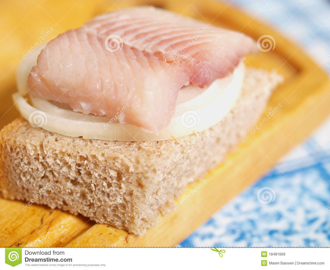 Salted fish and bread royalty free stock images image for How to bread fish