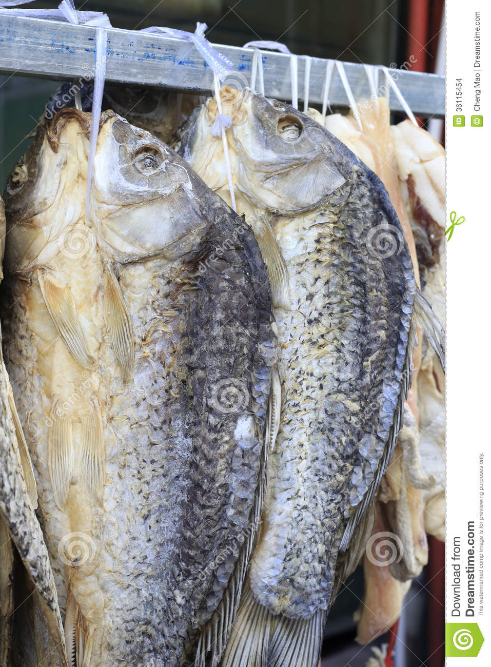 Salted Fish Stock Images - Image: 36115454