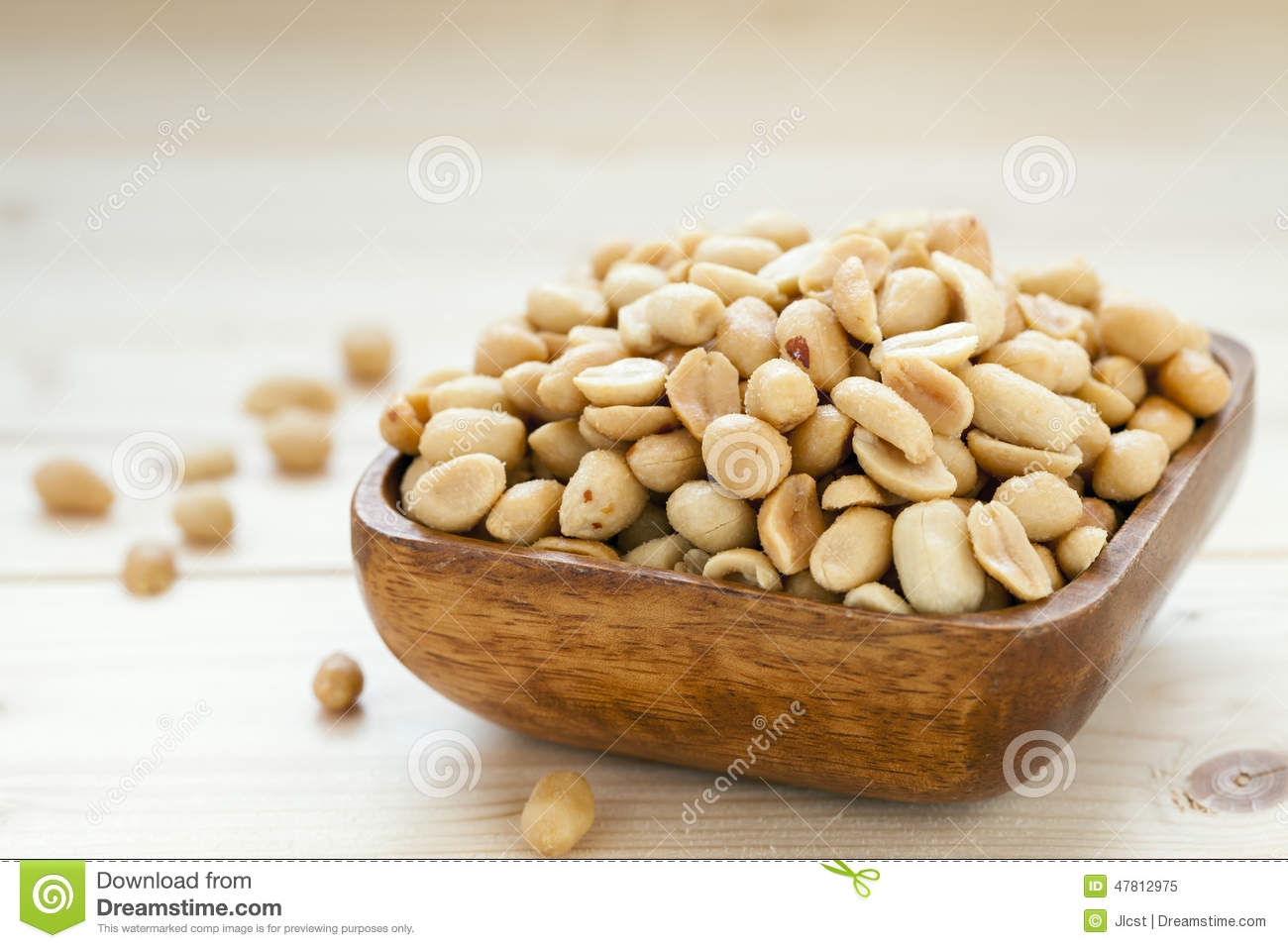 Salted Roasted Peanuts Nobody Lots