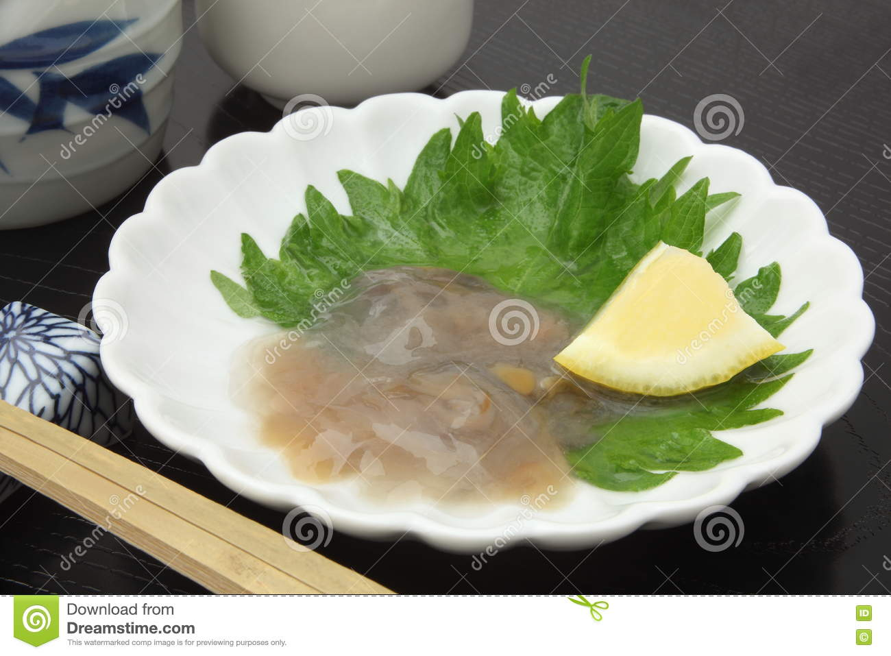 Salted Sea Cucumber Guts And Japanese ...