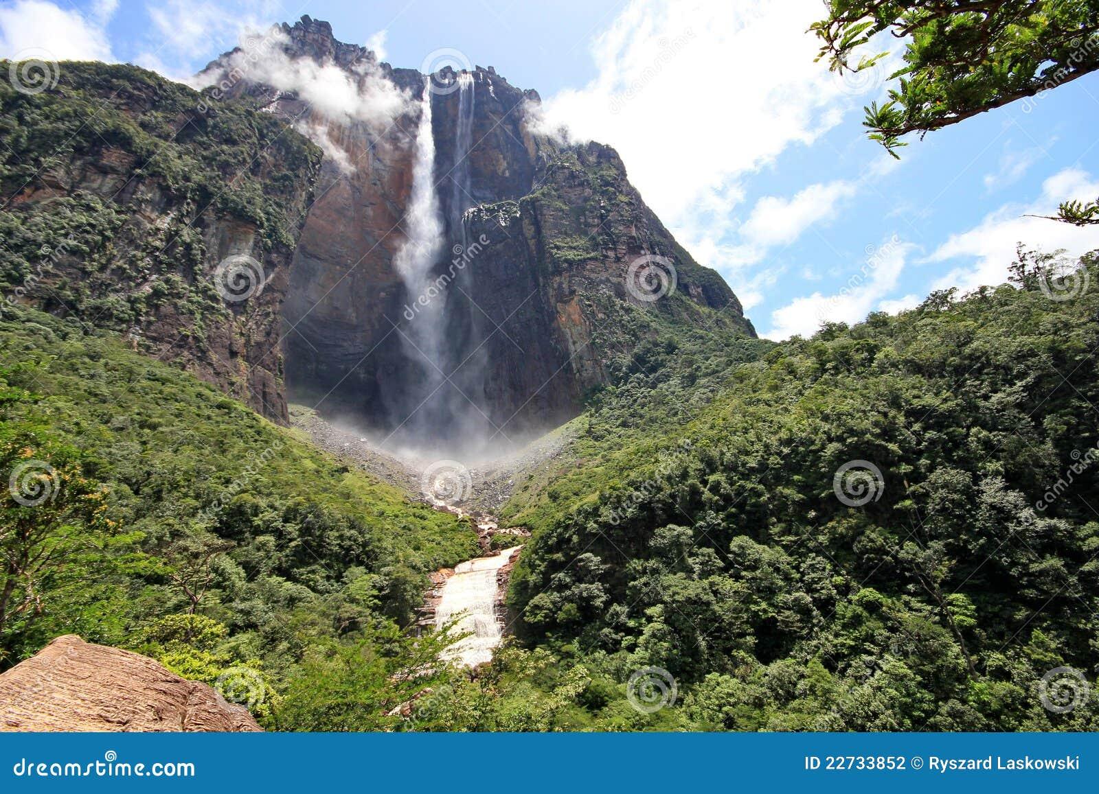 Salto Engel, Venezuela