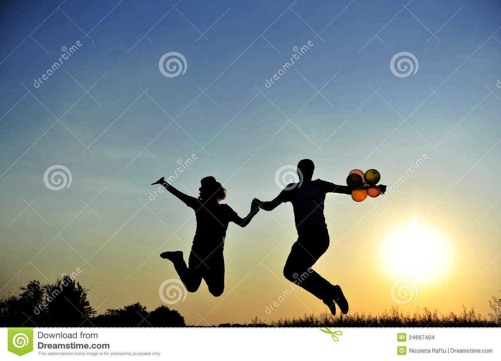 Salto feliz de los pares