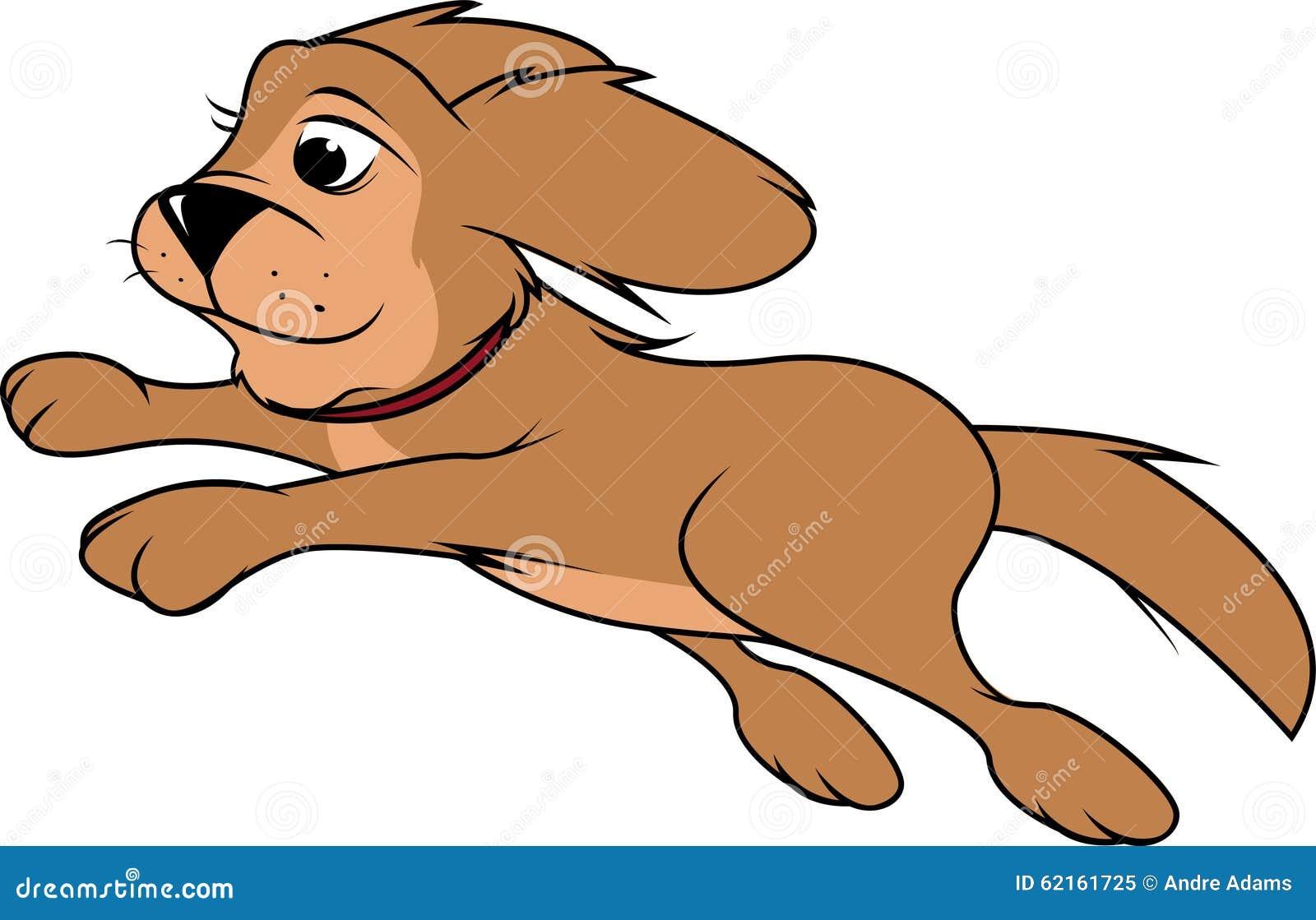 Salto lanuginoso del cane