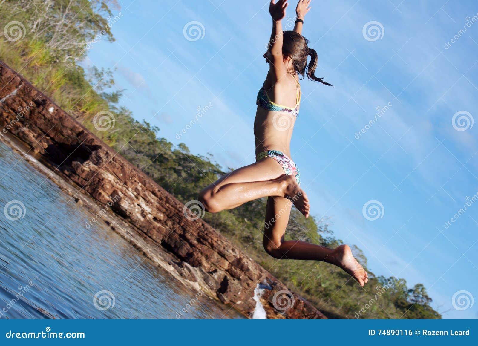 Salto na água