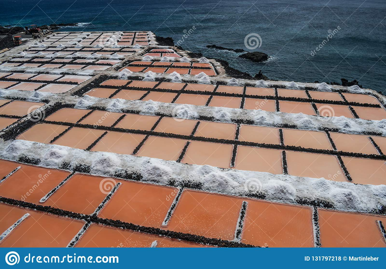 Saltworks de Fuencaliente, La Palma, Ilhas Canárias