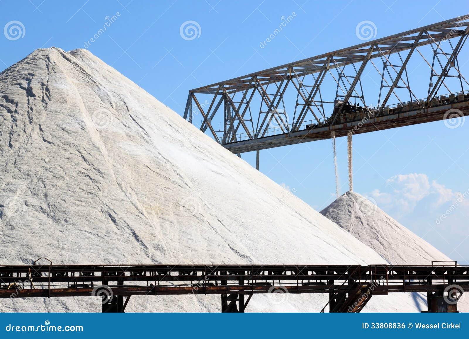 Saltworks de Margherita di Savoia, Itália