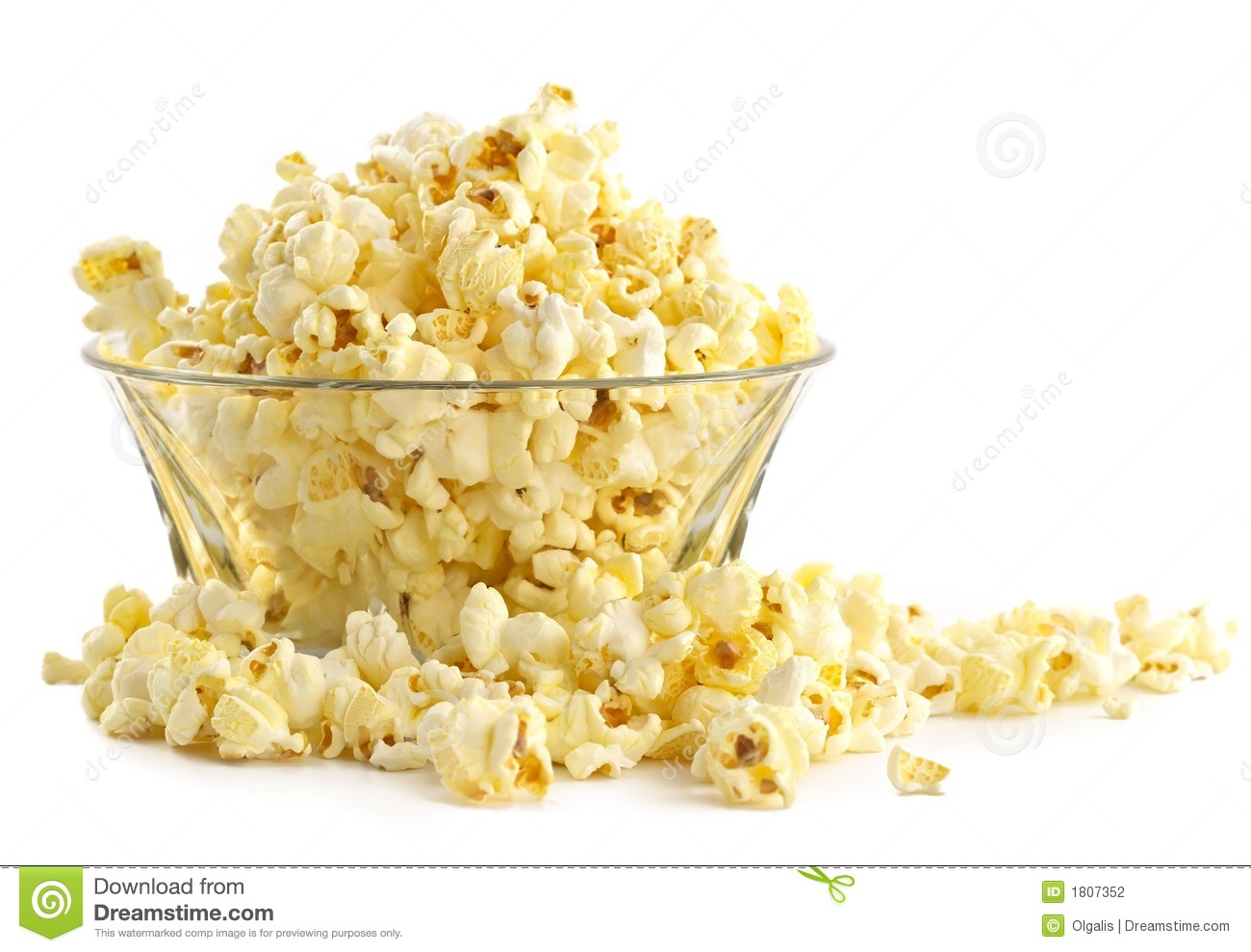 Salty Popcorn Stock Photography - Image: 1807352 Vacuum Clipart