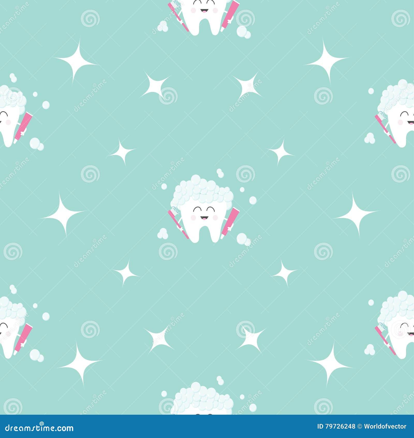 Salud inconsútil del diente de la goma del cepillo del modelo Estrella de la chispa Carácter sonriente de la historieta divertida