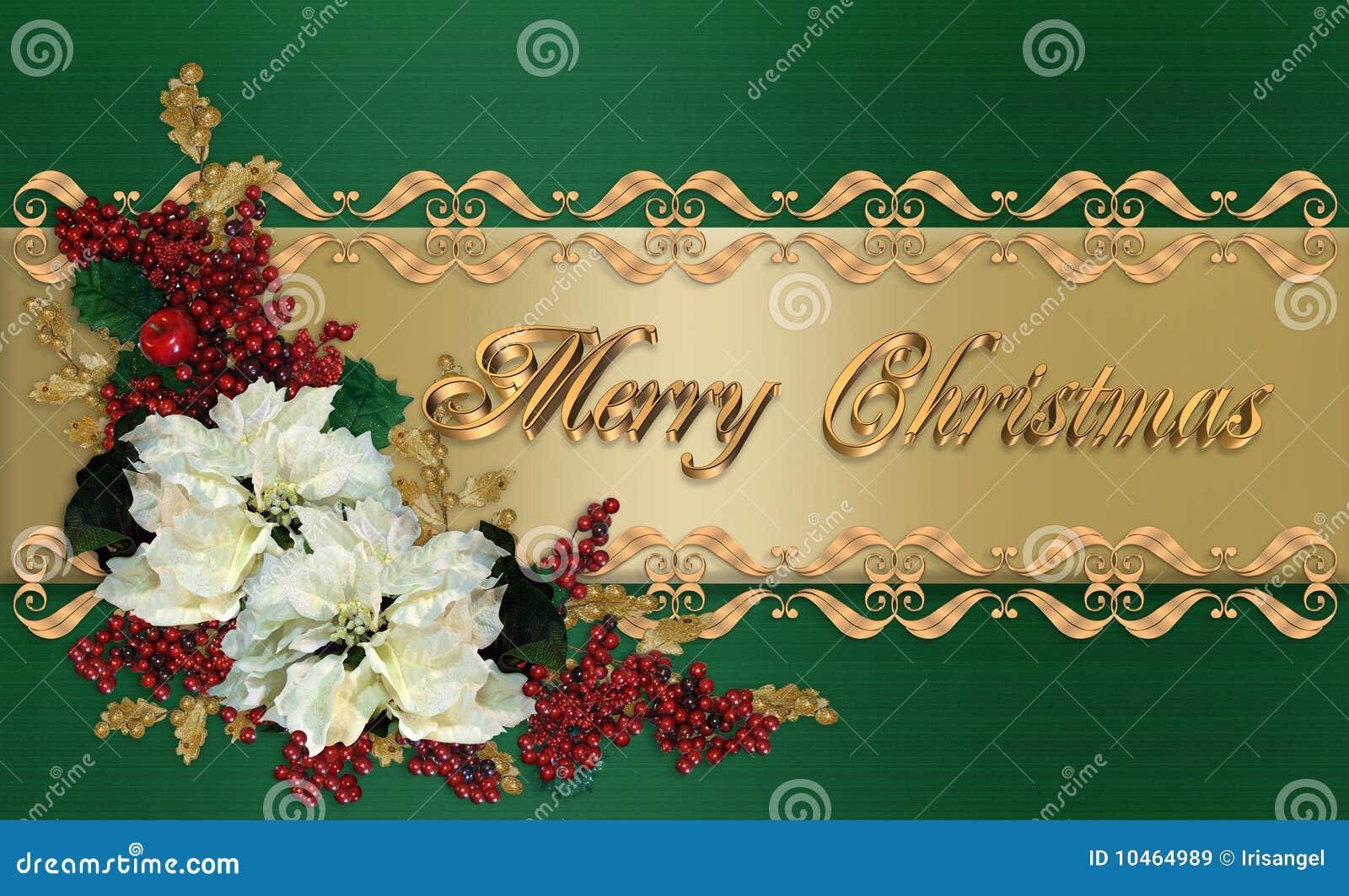 Saludo elegante de la tarjeta de navidad stock de - Tarjetas de navidad elegantes ...