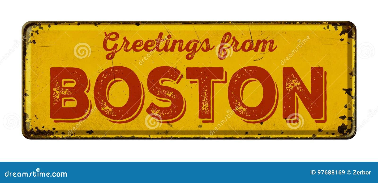 Saludos de Boston