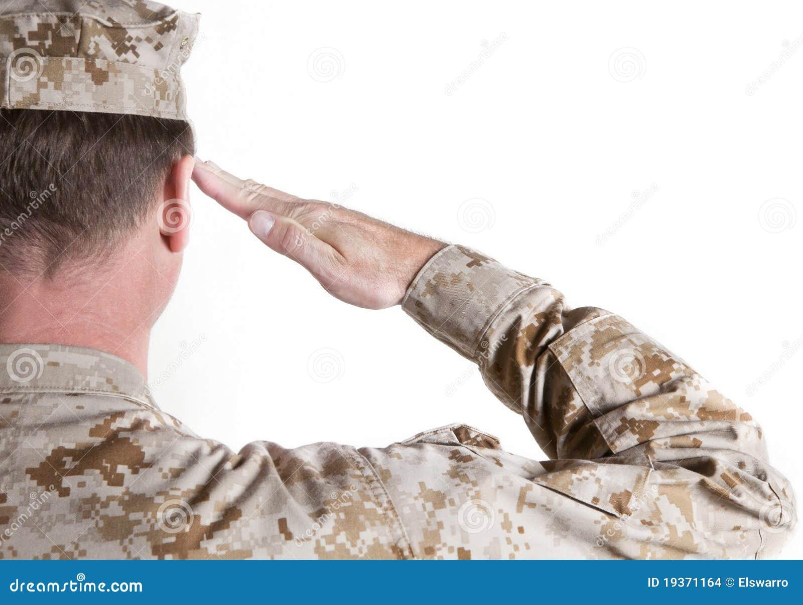 Salutation marine
