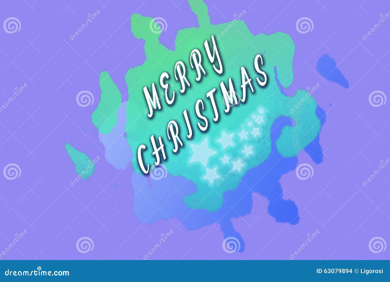 Download Salutations De Joyeux Noël Writed Sur Vert Clair Photo stock - Image du noël, salutation: 63079894