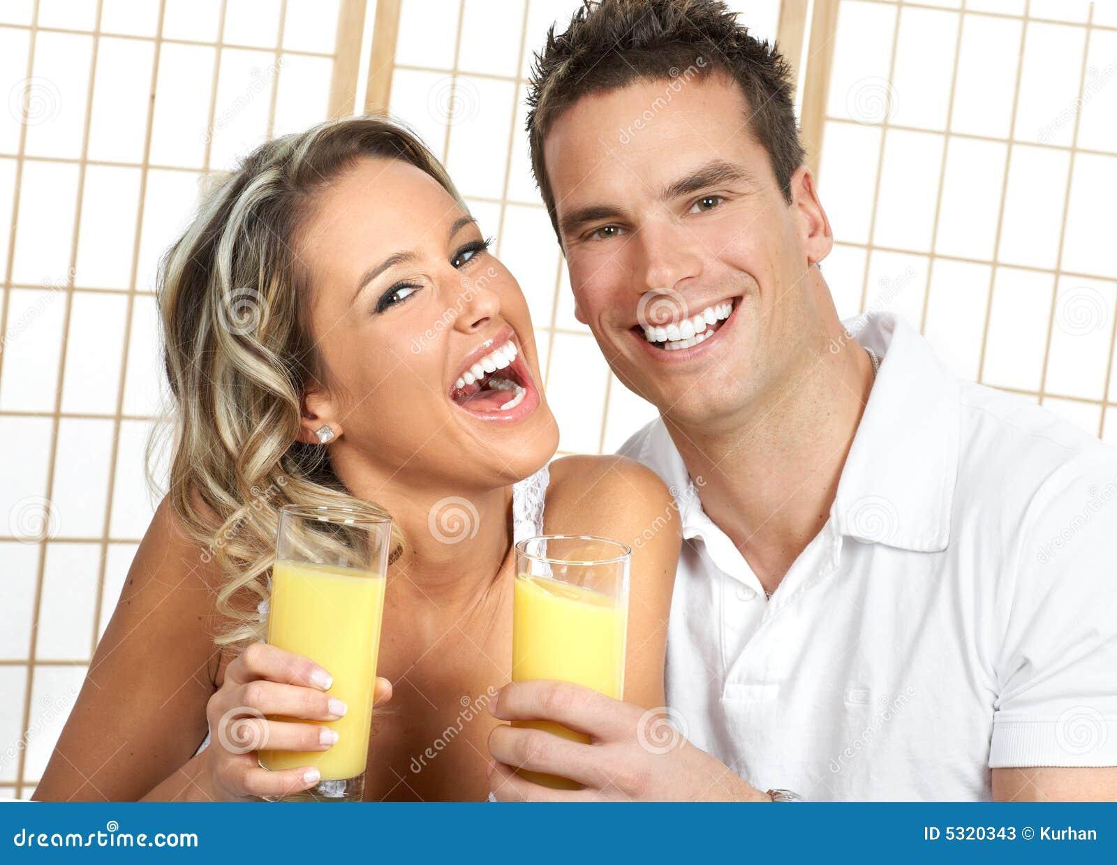 Download Salute immagine stock. Immagine di amanti, arancione, sorriso - 5320343