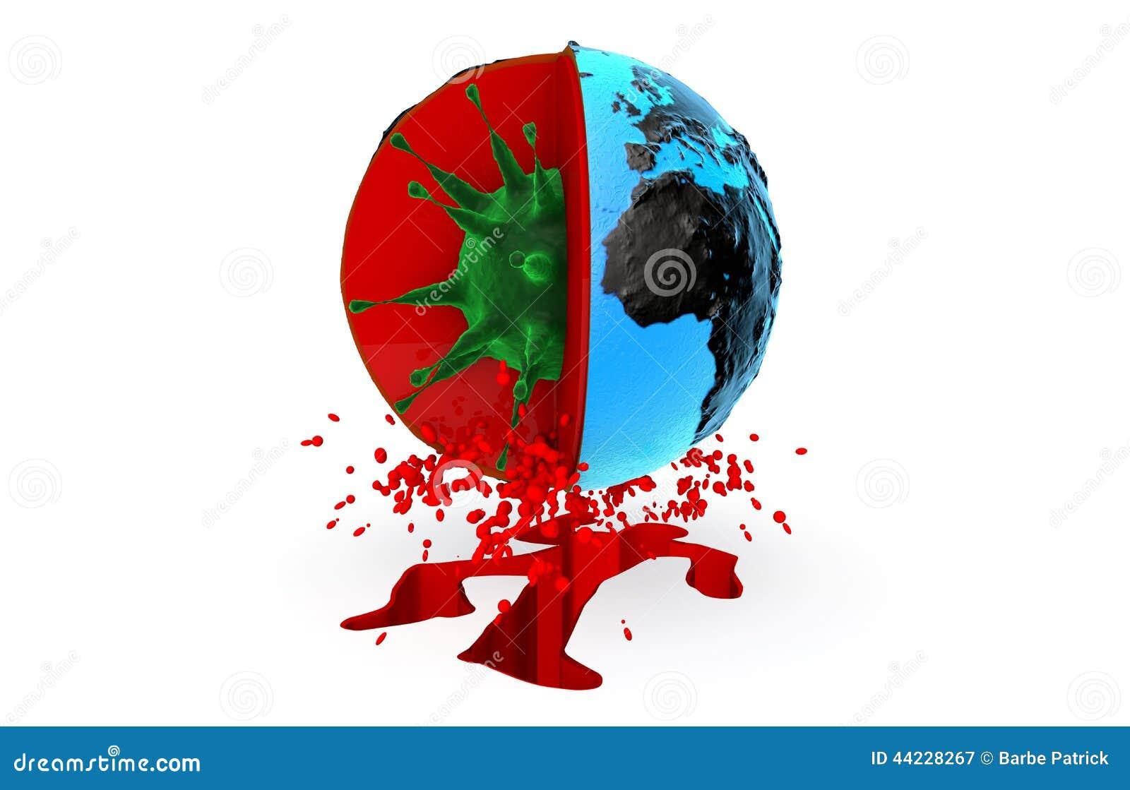 Salute, pandemia, virus, ebola