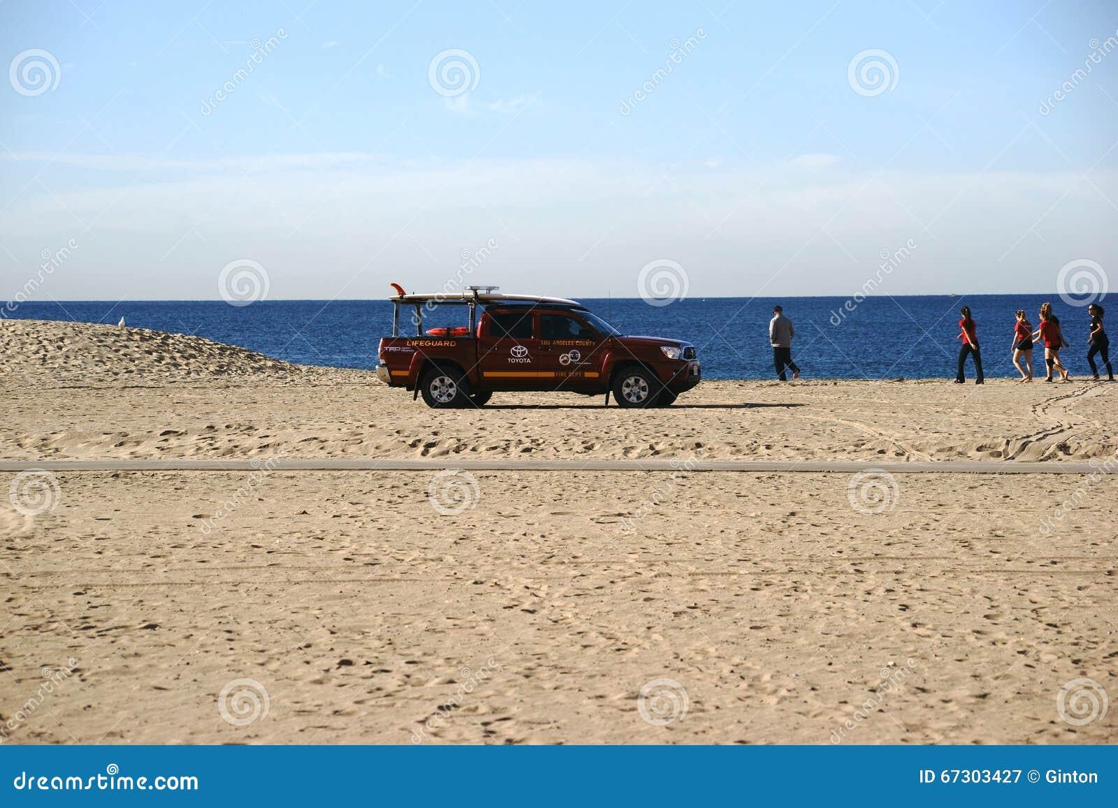 Salva-vidas Patrol na praia