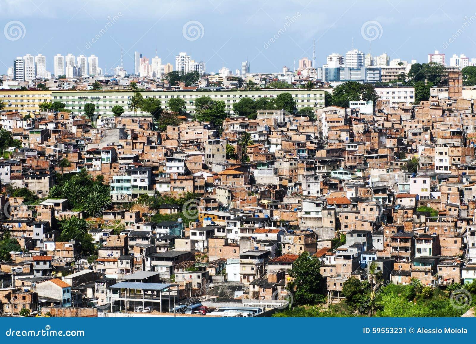 Salvador em Baía, vista panorâmica