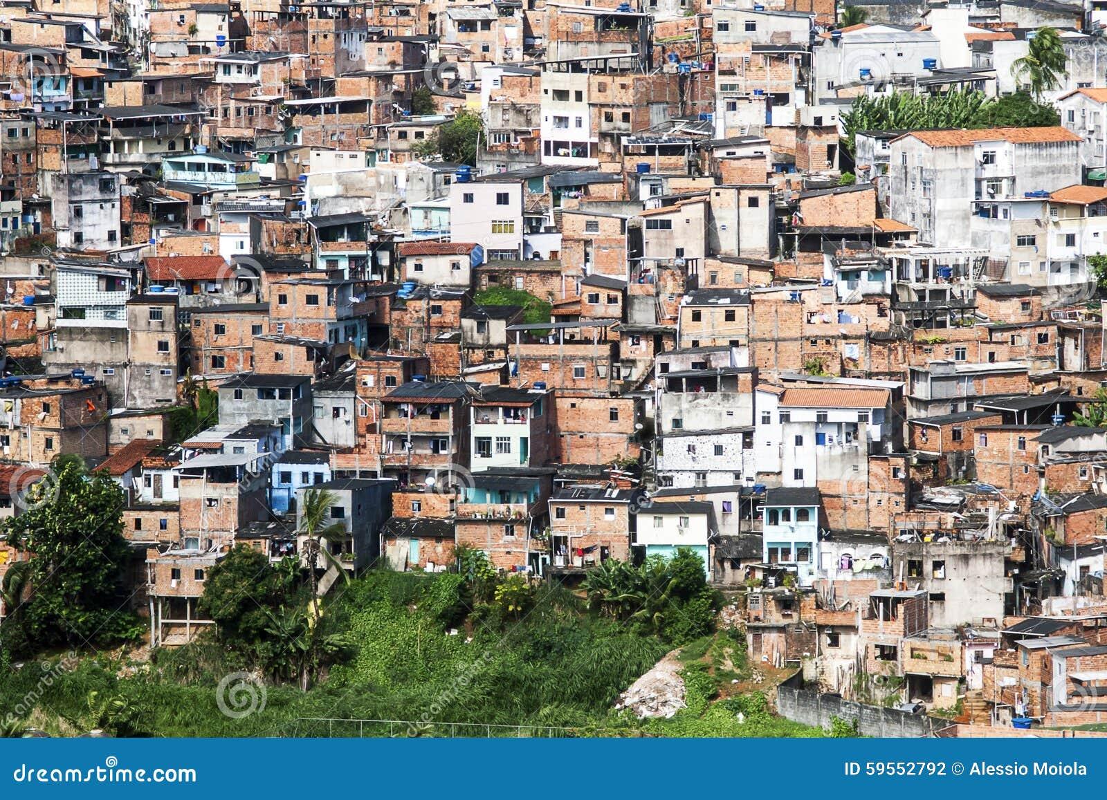 Salvador en Bahía, el Brasil