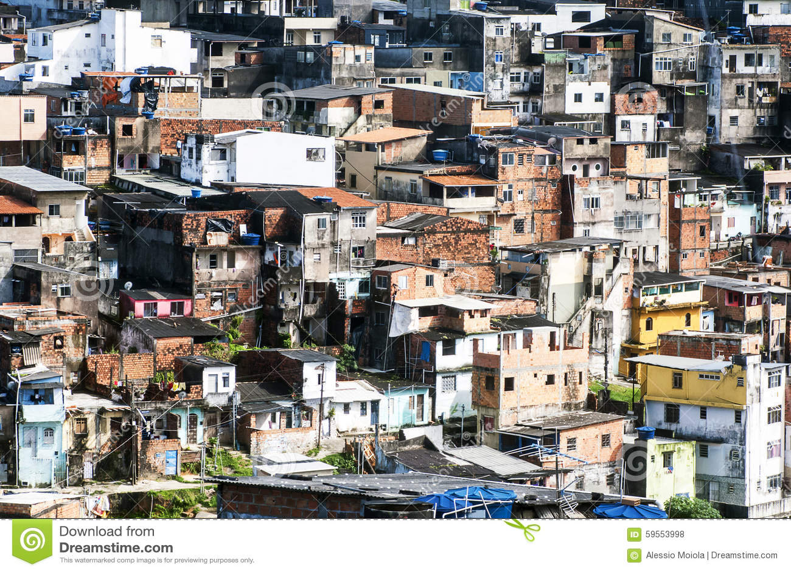 Salvador i Bahia, Brasilien