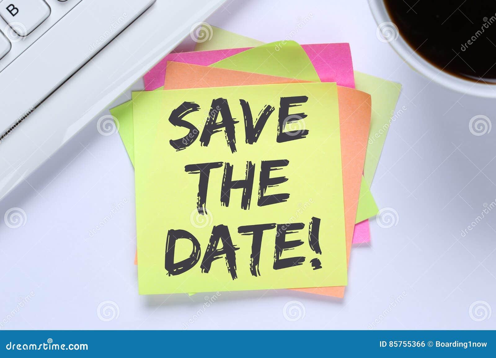 Salvar o balcão de informações do negócio da mensagem do convite da data