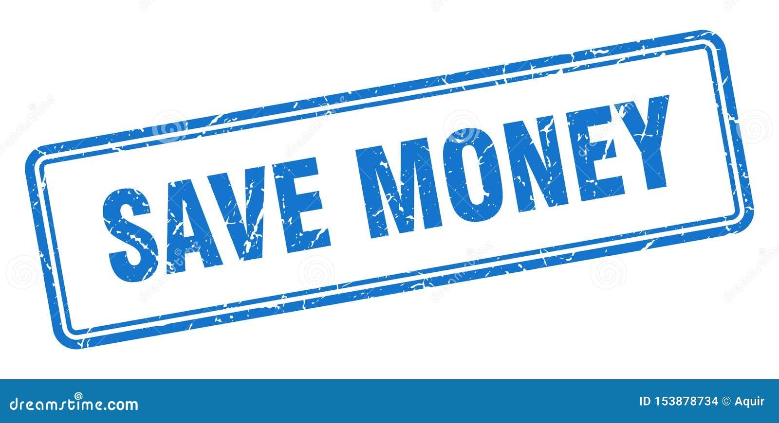 Salvar o selo do dinheiro