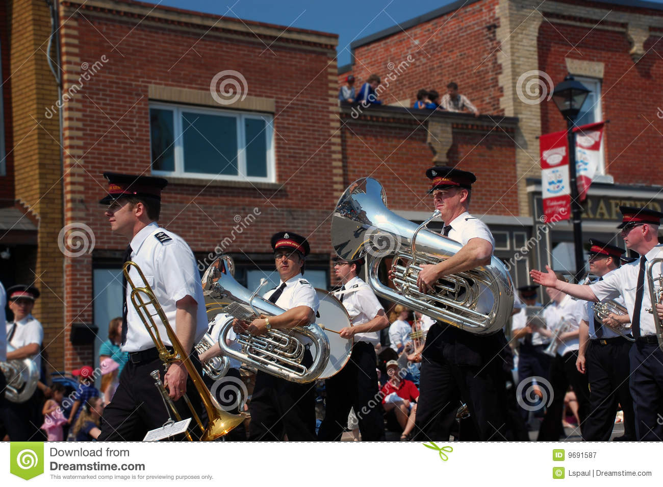 Salvation Army Band Editorial Photography Image Of Marching 9691587