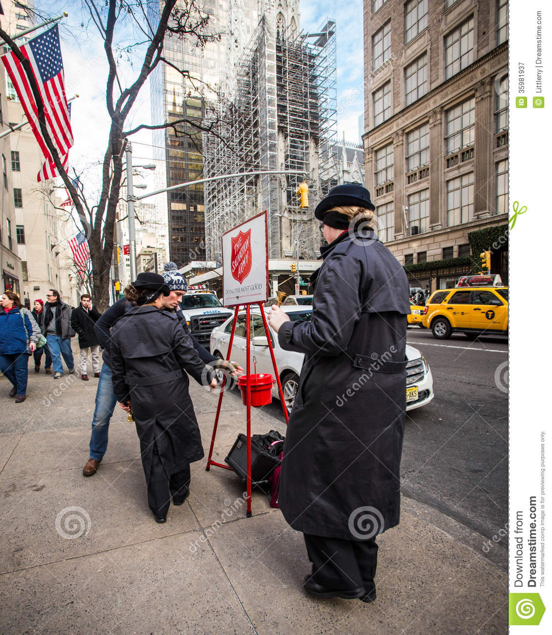 Salvation Army Donation Pick Up New York City