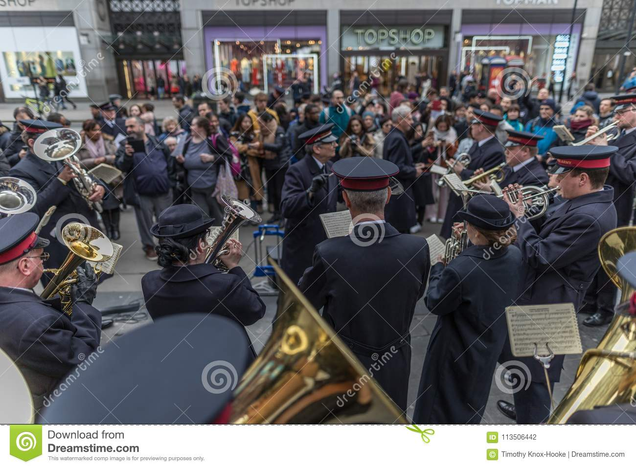 Salvation Army Easter Day Parade Editorial Photography Image Of