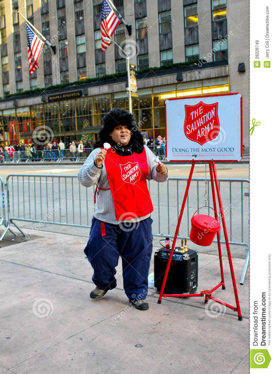 Salvation Army Manhattan Nyc Editorial Stock Image Image Of Army