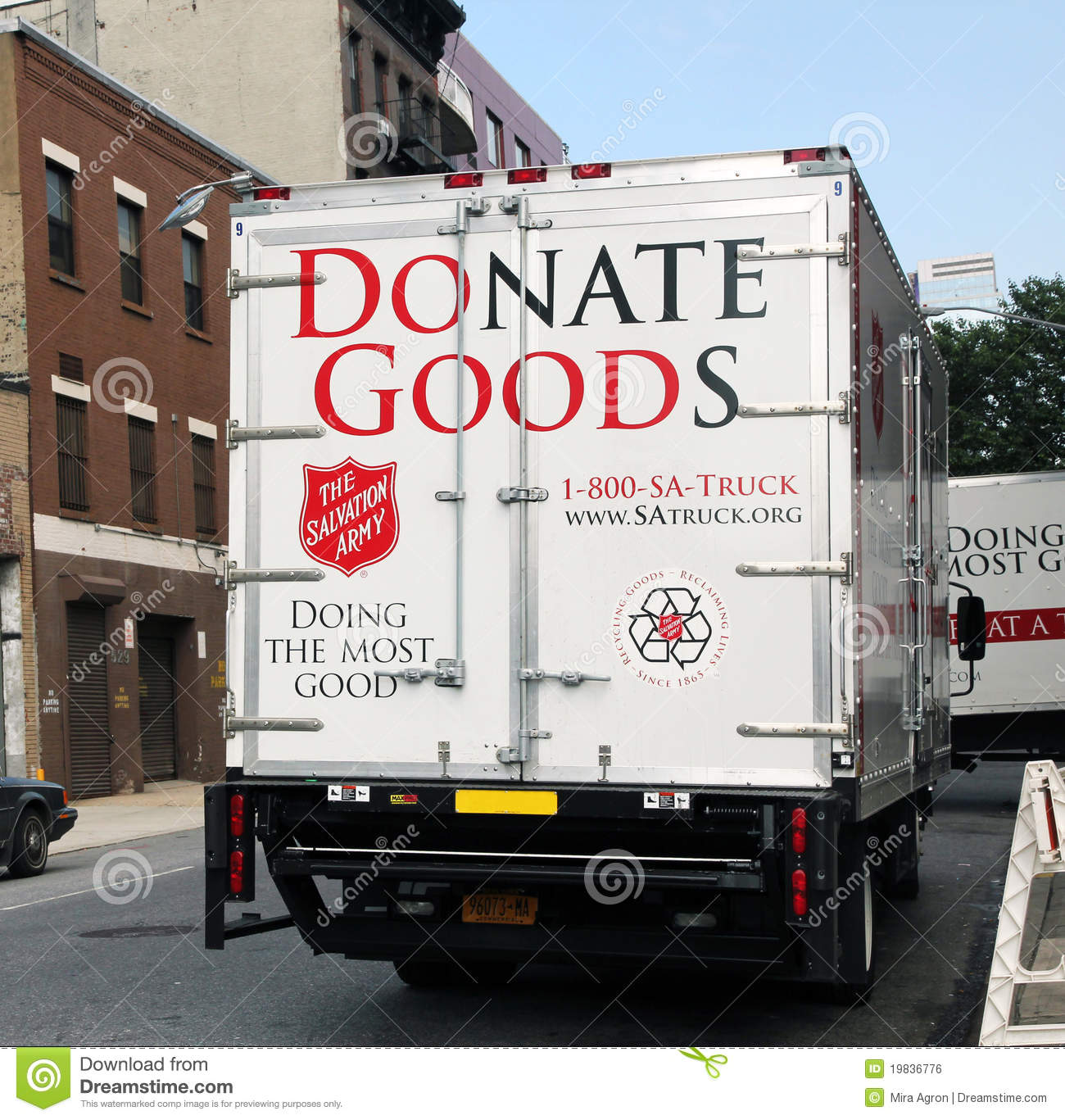 Donate Furniture Pick Up Free Boston: Salvation Army Pick-up Truck. Editorial Photo