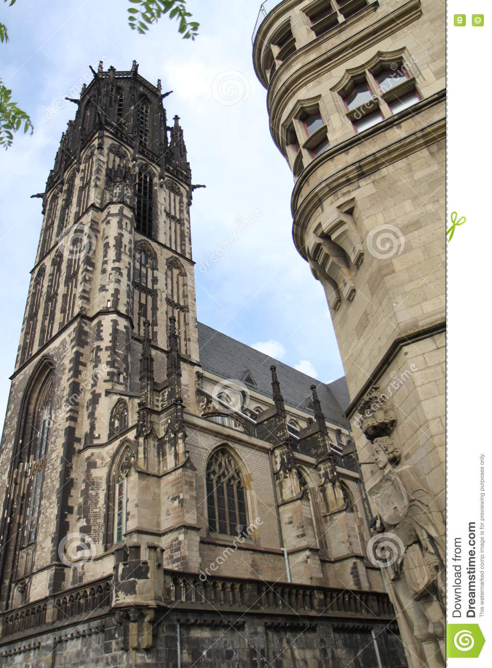Salvator Church in Duisburg Germany