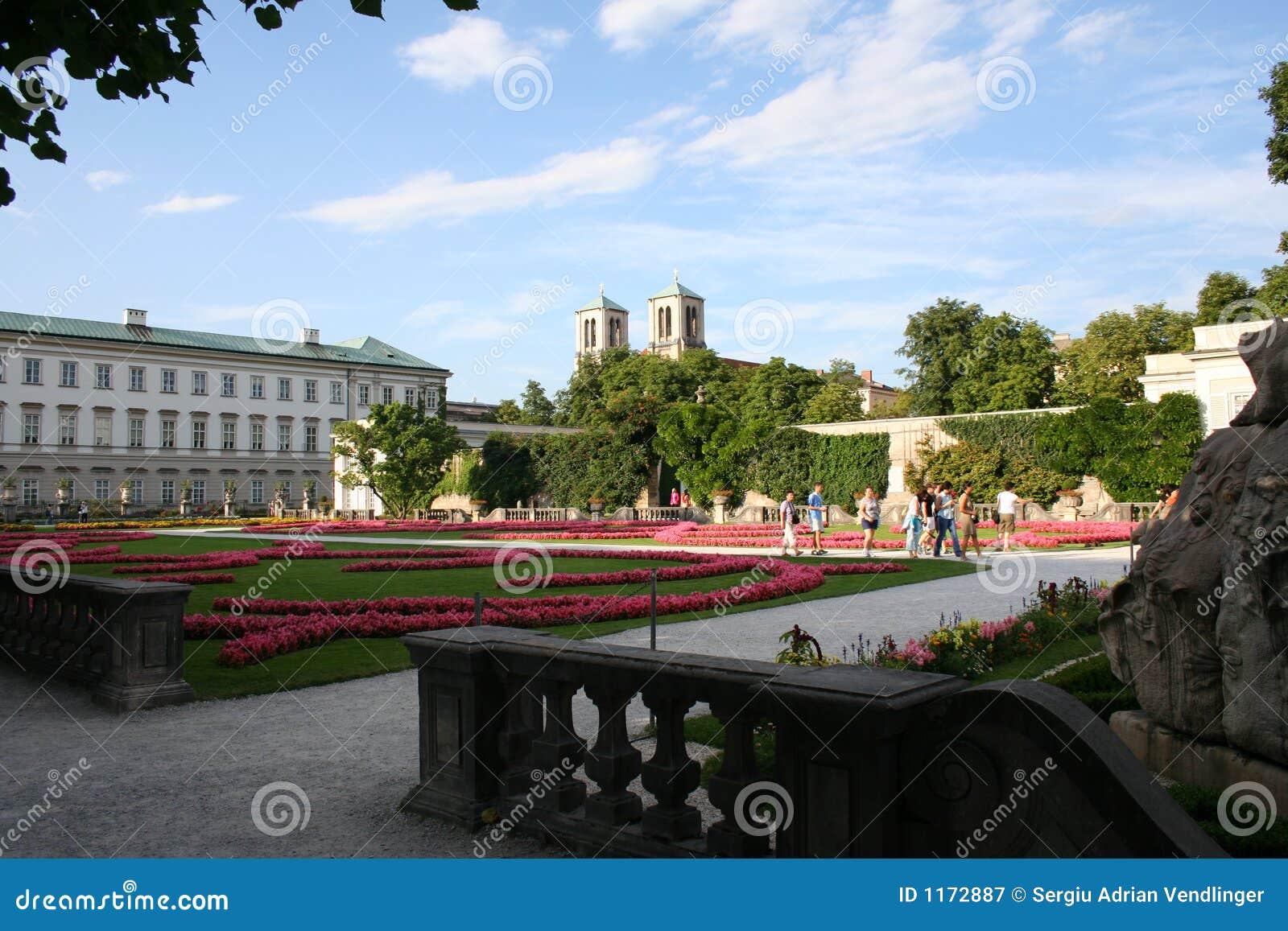 Salzbourg - jardin de mirabelle
