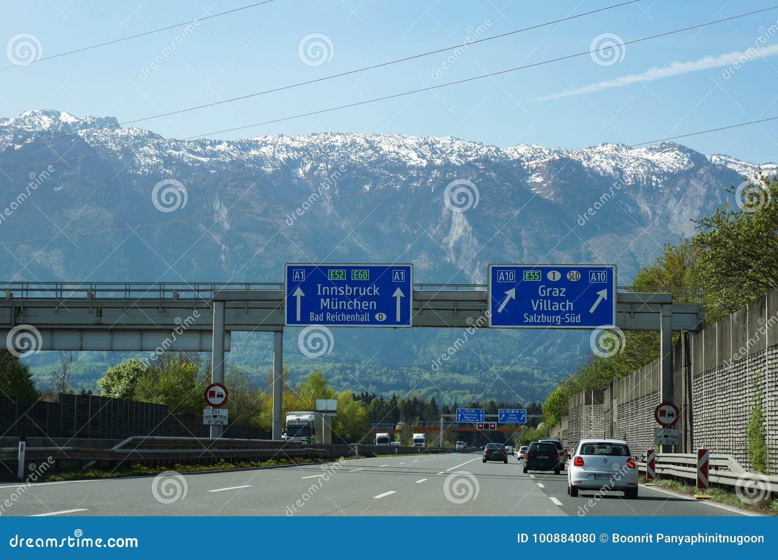 Salzburg Autobahn