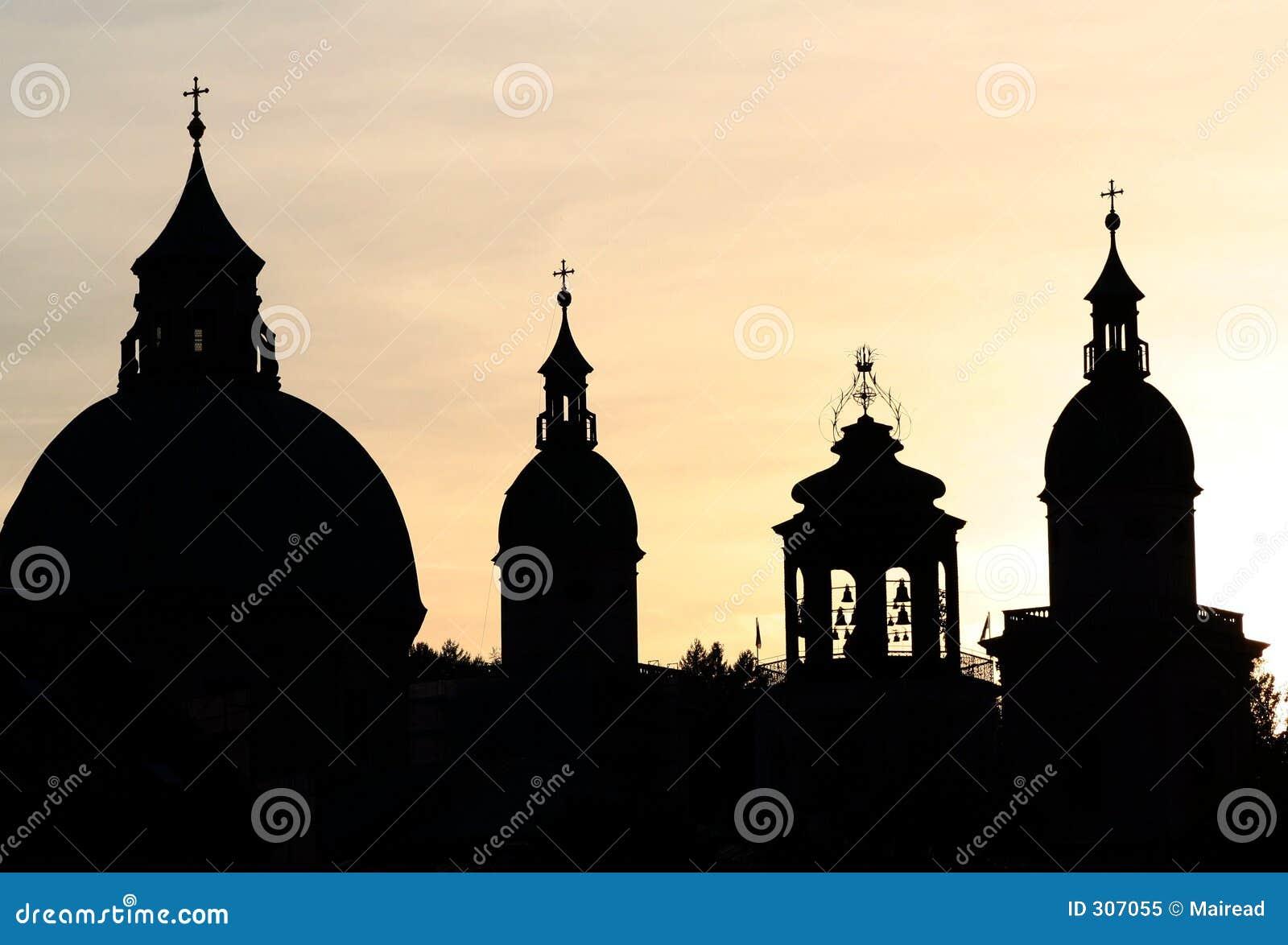 Salzburg iglicy