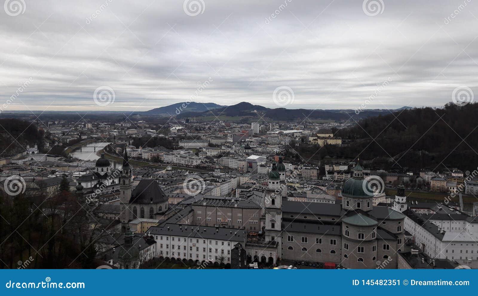 Salzuburg老镇