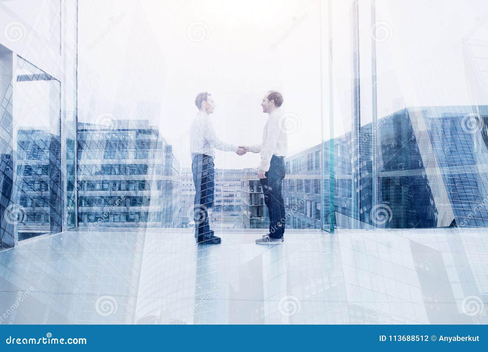 Samarbete, affärsavtal eller samarbetsbegrepp