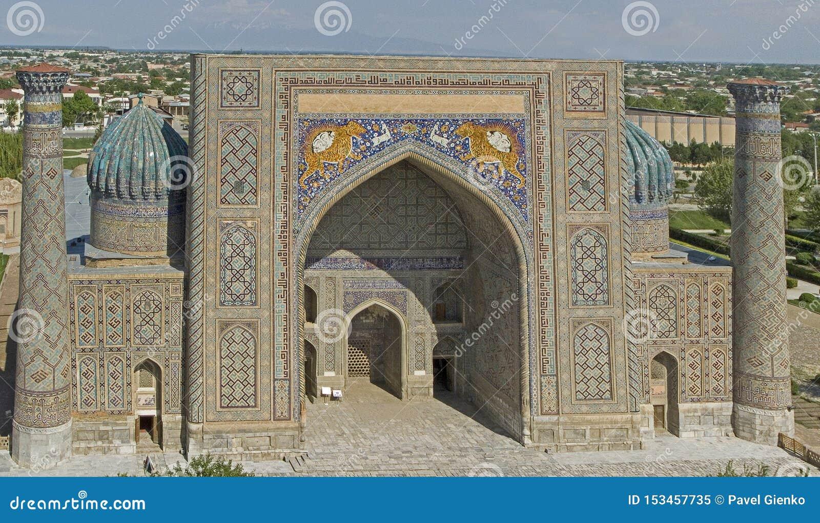 Samarkand.Medres Shir Dor