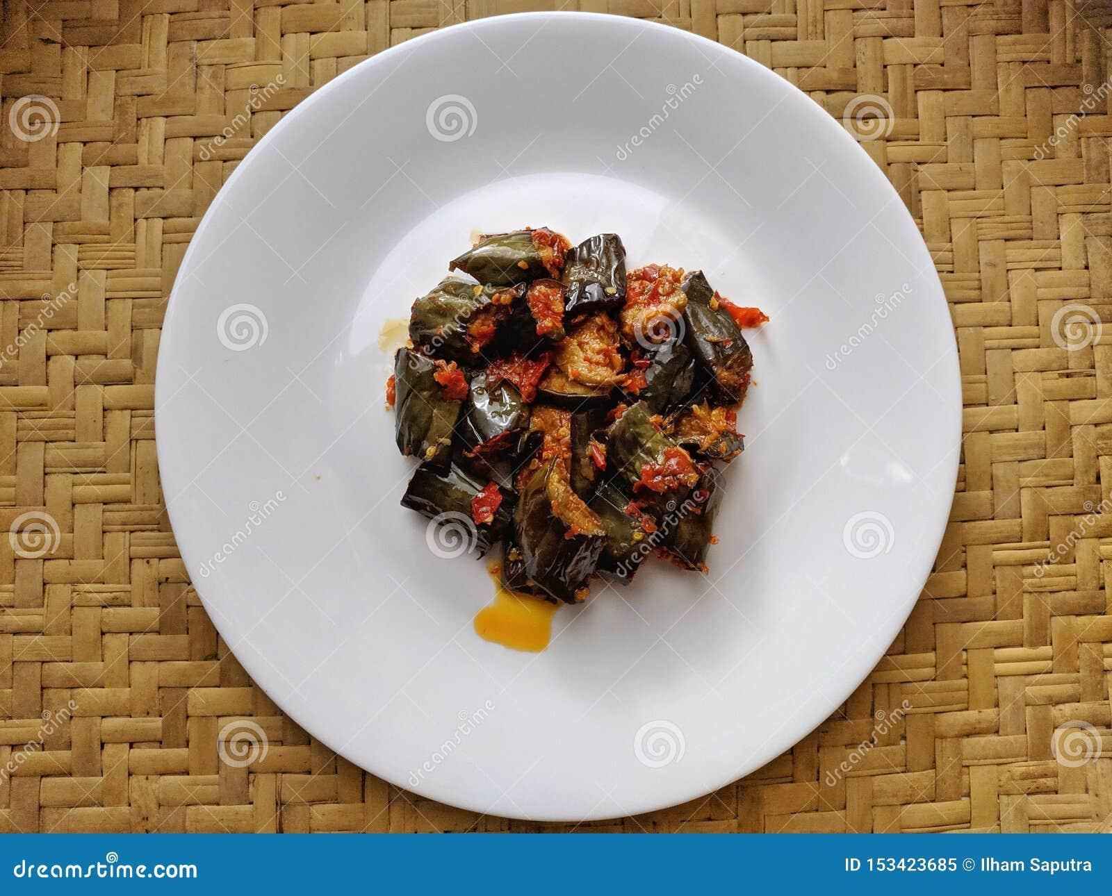 Sambal Terong is Indonesian traditional food