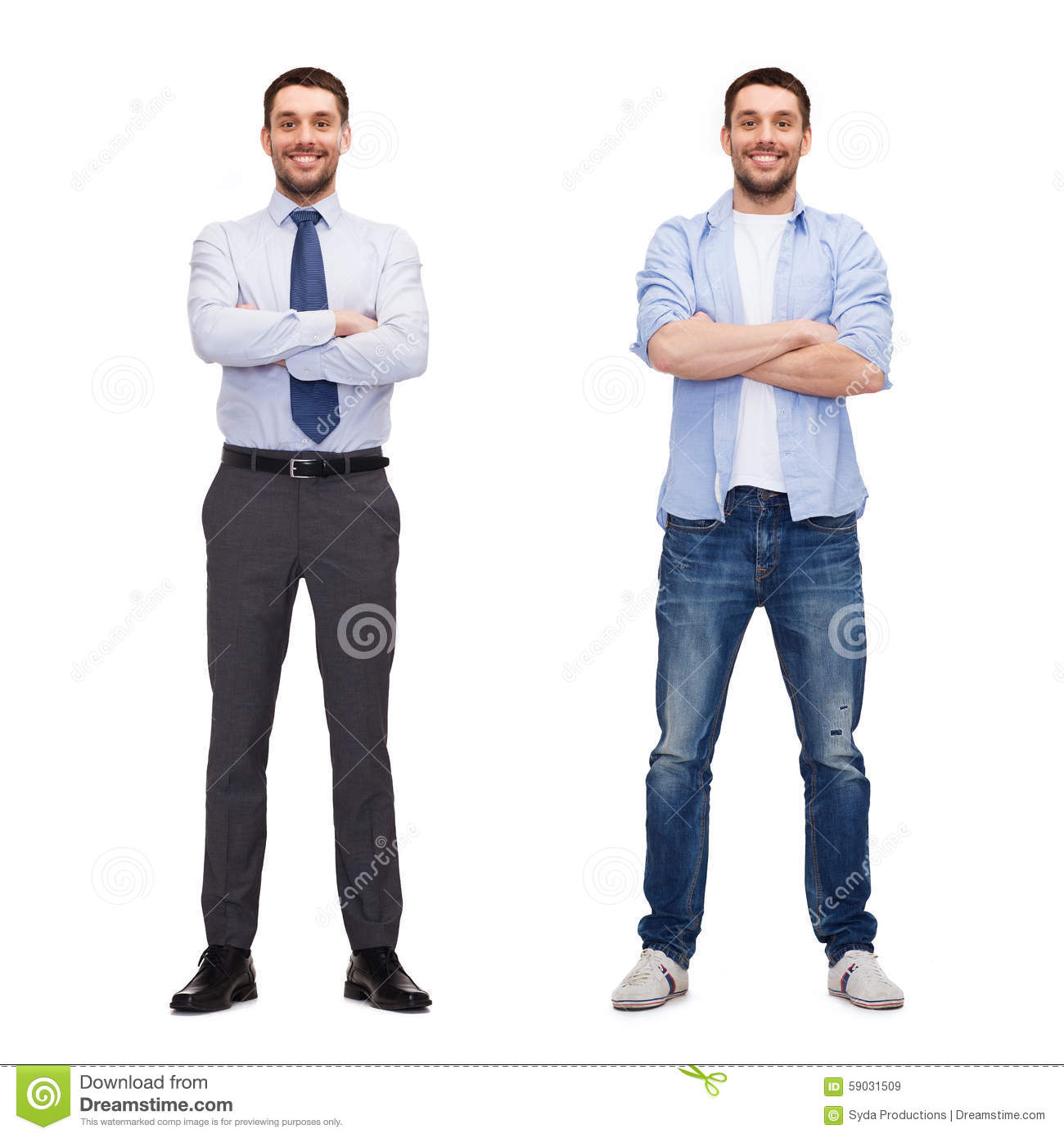 Same man in different style clothes stock image image 59031509 Different fashion style groups