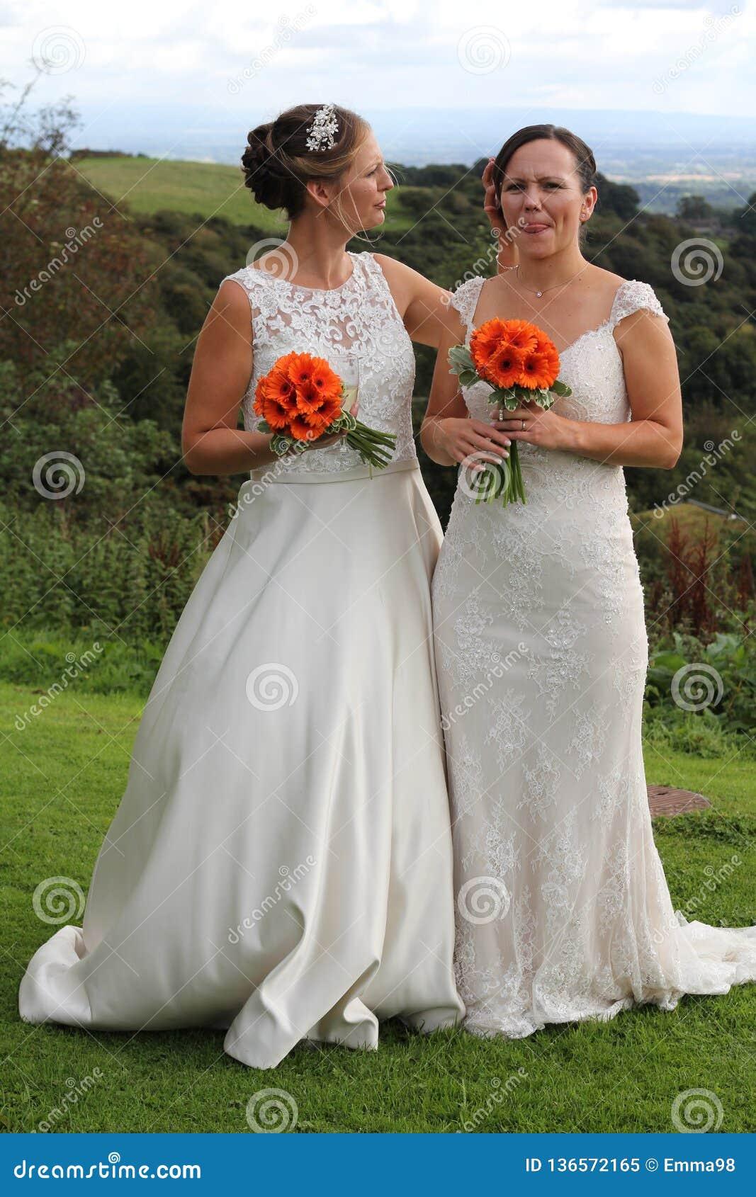 Same sex rural wedding