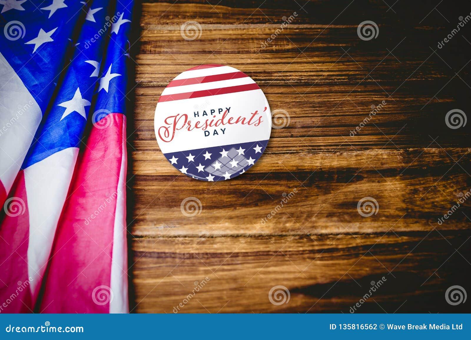 Samengesteld beeld van gelukkige voorzittersdag typografie