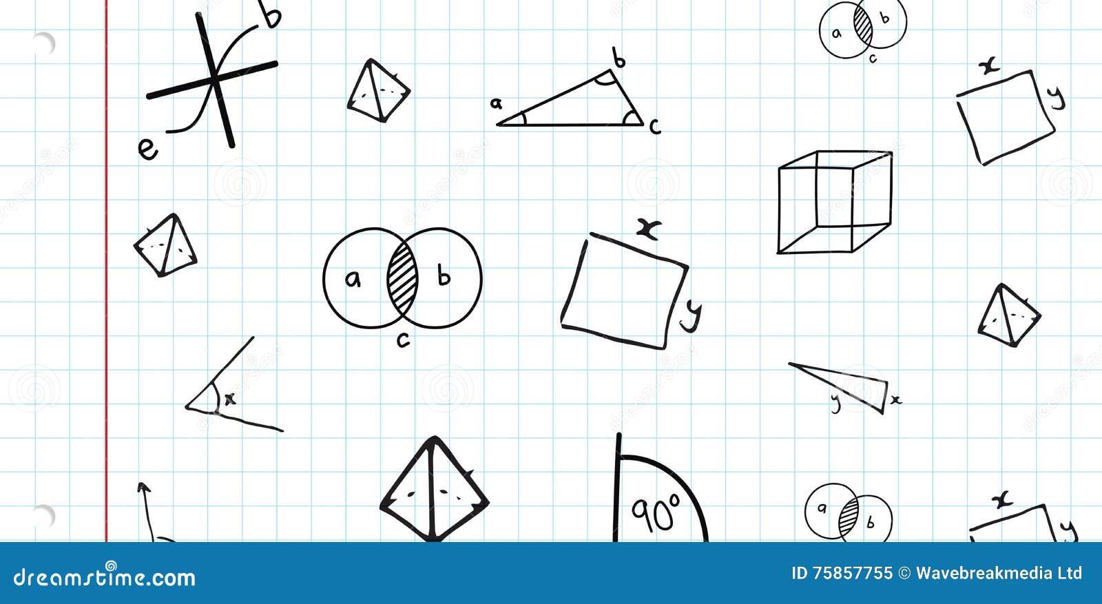 Samengesteld beeld van wiskunde