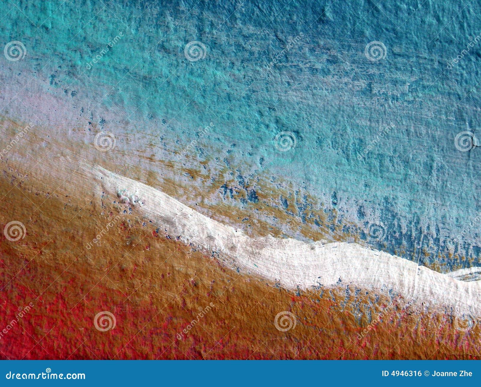 Samenvatting geschilderde muuroppervlakte