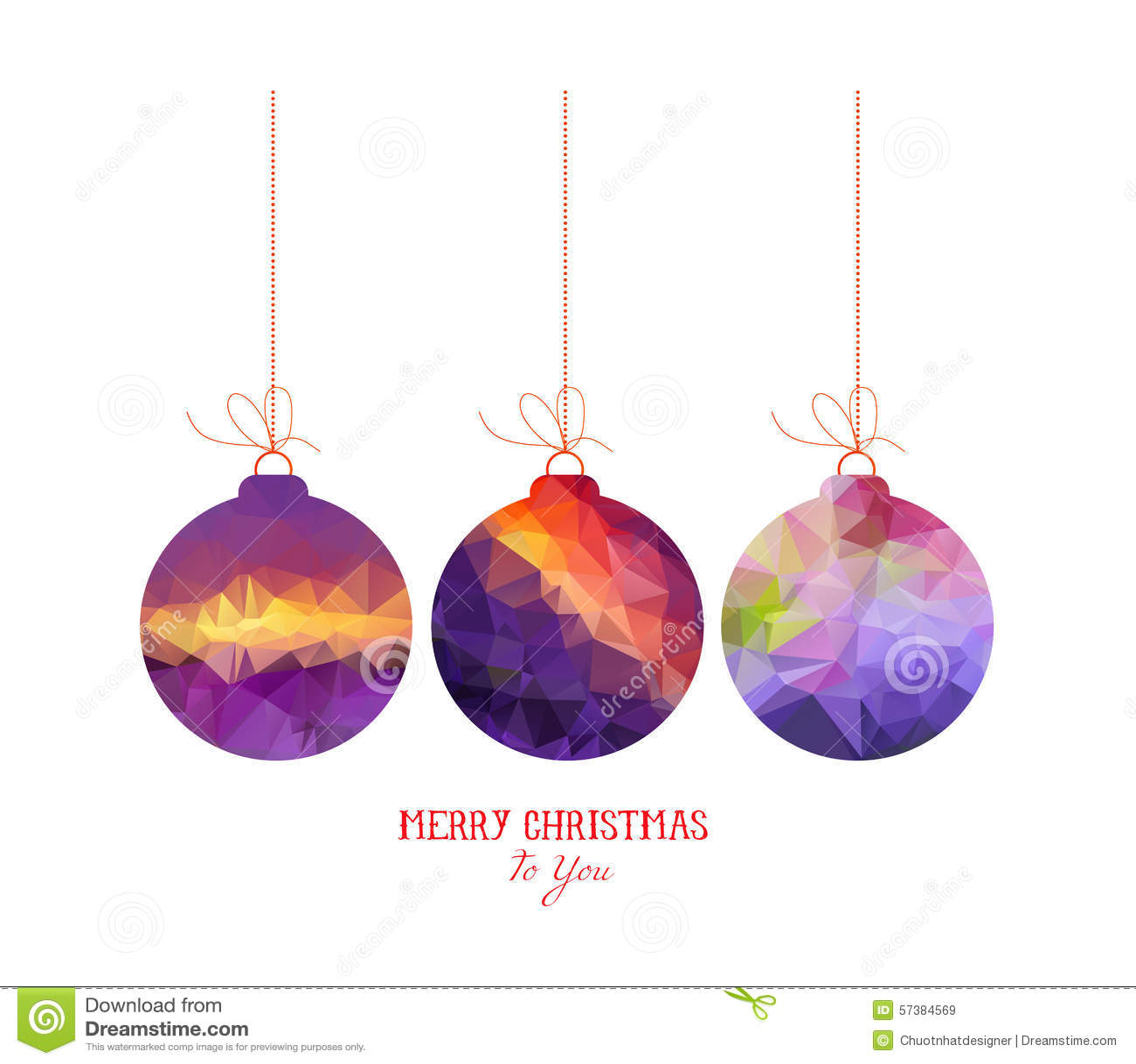 Samenvatting van Kerstmis de purpere die ballen op witte achtergronden wordt geïsoleerd