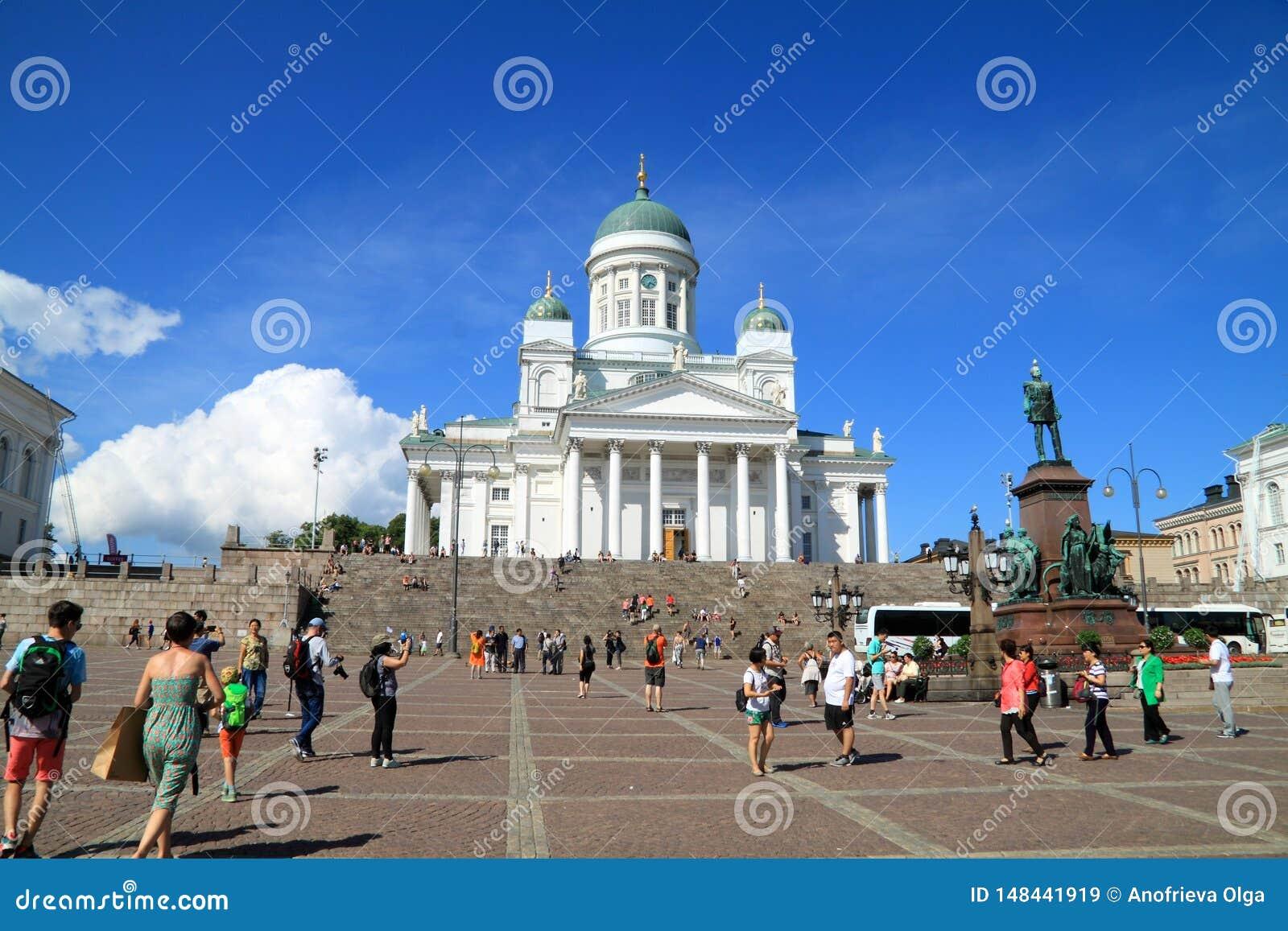 Samlas turism i Finland, domkyrka av Helsingfors