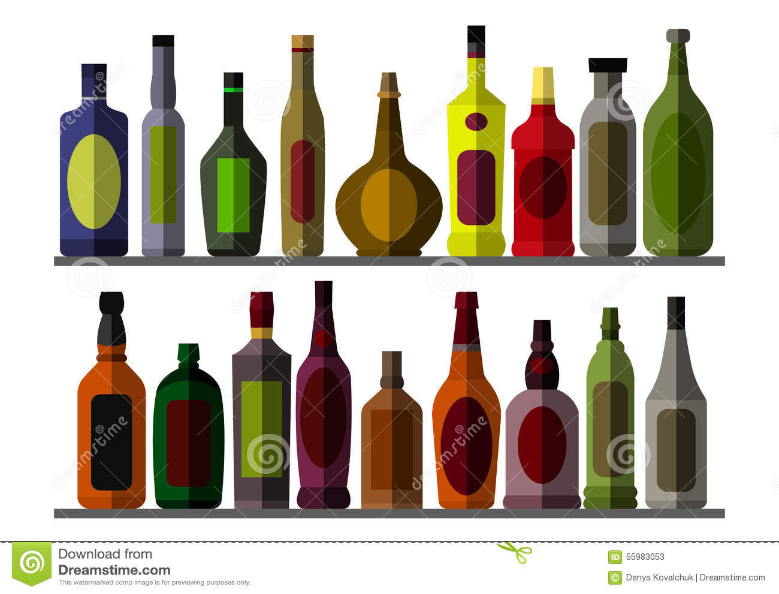 Samlingsflaska för alkoholist