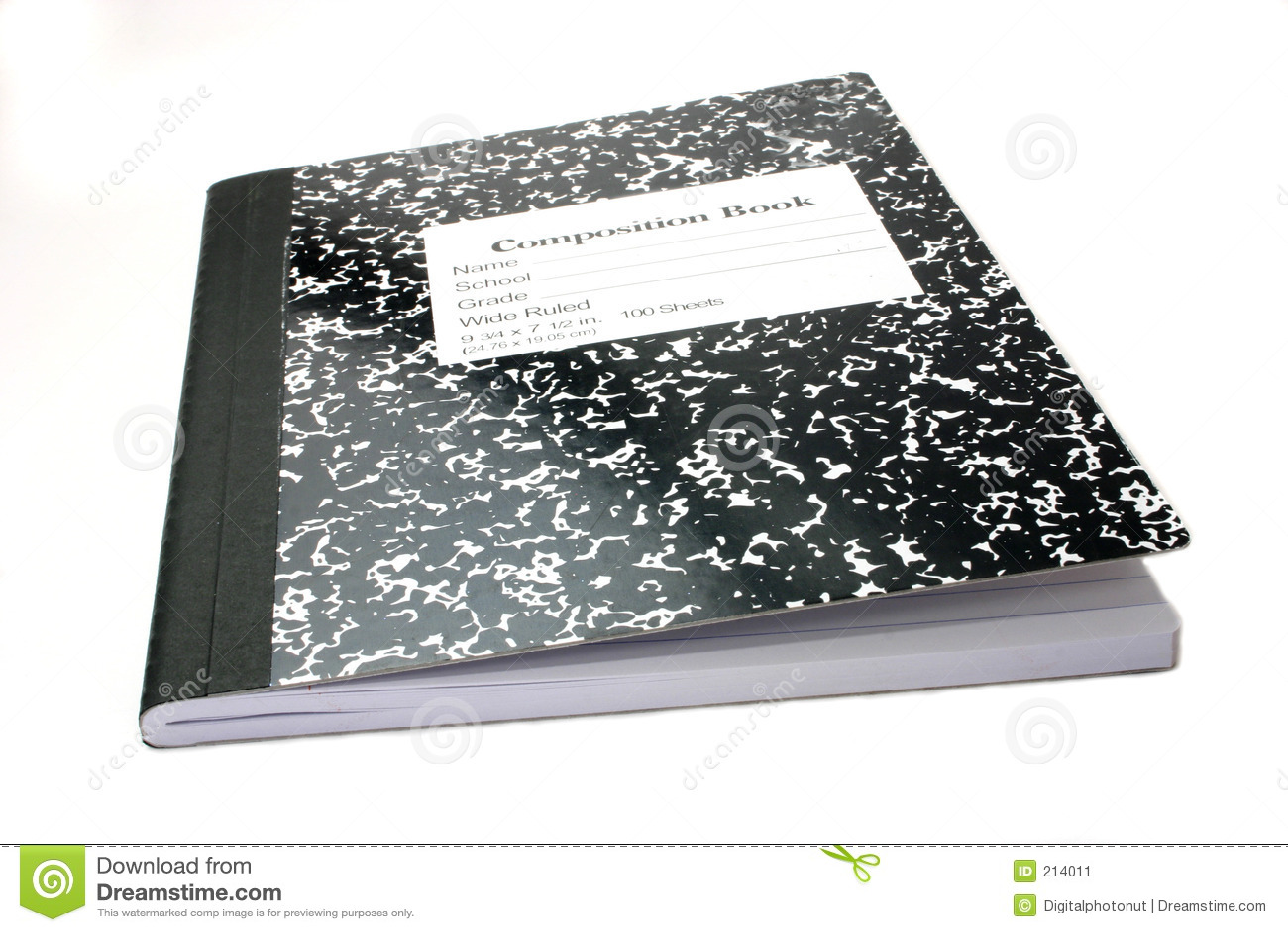 Sammansättningsanteckningsbok