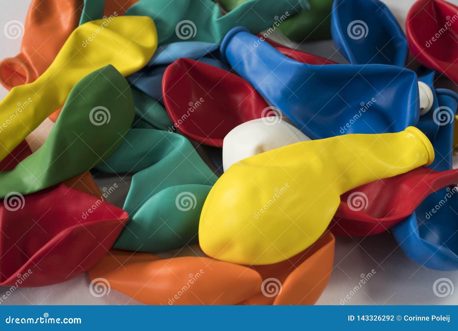 Sammlung aufblasbare flache Ballone