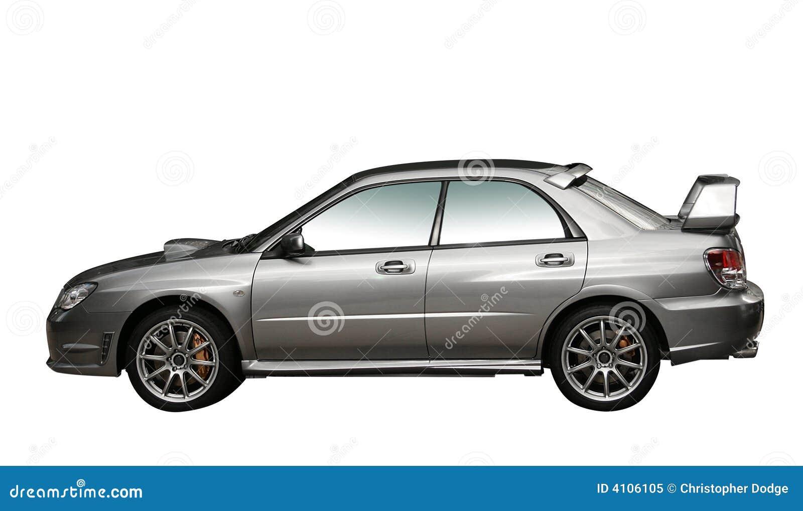 Sammlungauto des Silbers 4WD getrennt
