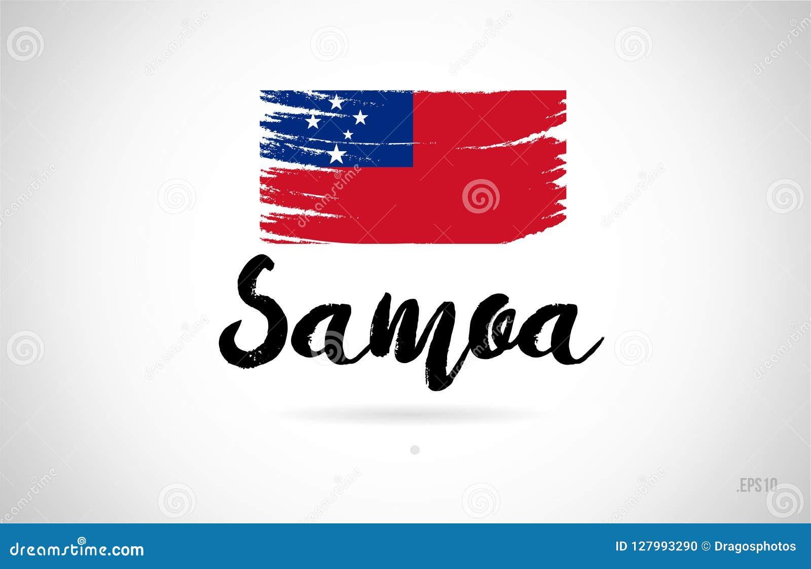 White Graphics /& More c-American Samoa National Country Flag